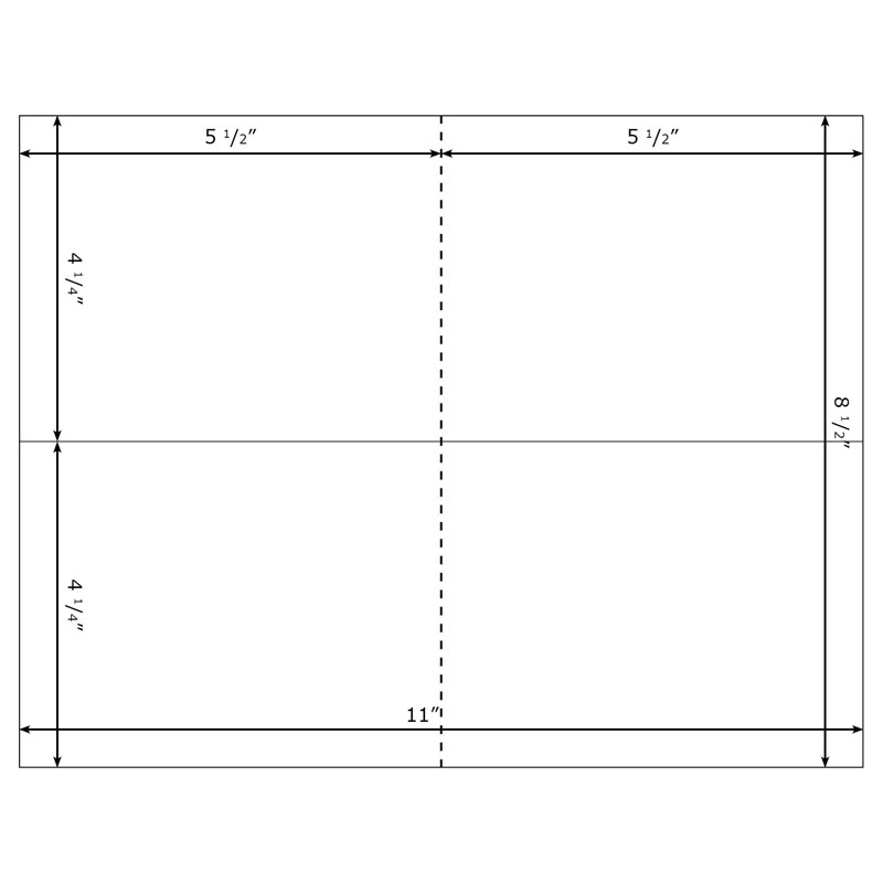 blank index card template