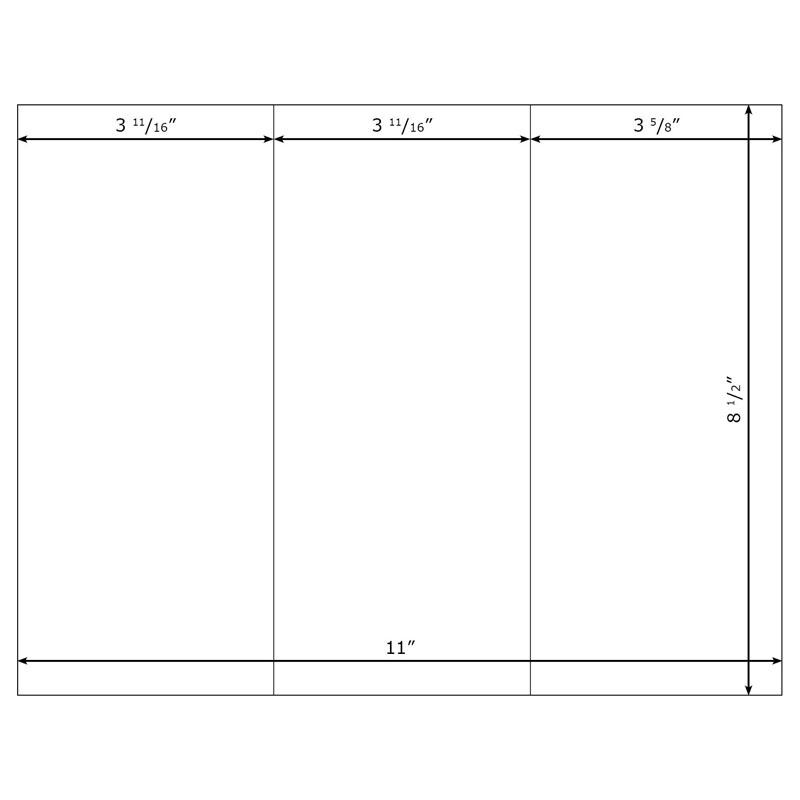 free tri fold template word - word template brochure tri fold