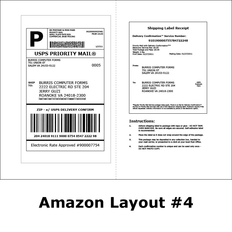 Shipping Labels for Amazon® Streamline Amazon® Order Fufillment