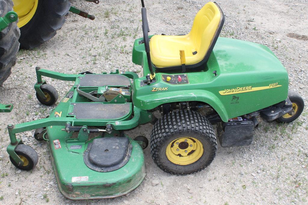 John Deere F687 Mower John Deere Mowers John Deere Mowers - www