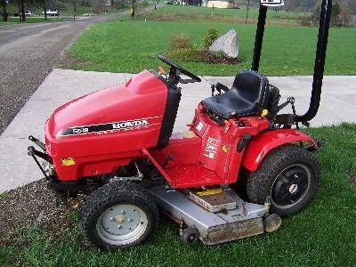 Honda Rt5000 Lawn Tractor Honda Lawn Tractors Honda Lawn Tractors