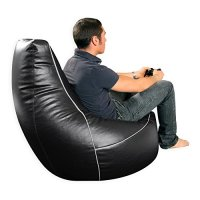 i-eX Gaming Chair -Faux Leather - Man Size Gaming Bean ...