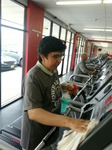 Nupur at Powerhouse Gym in Hamilton