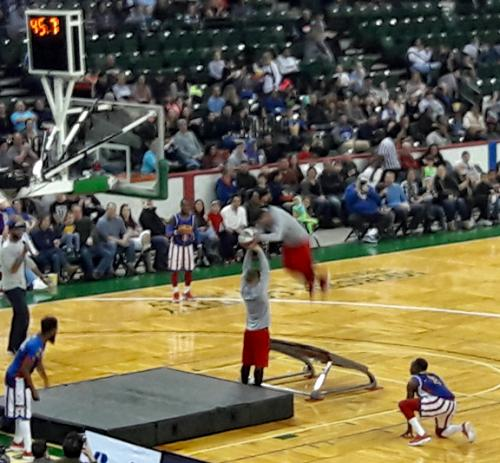 2018 Harlem Globetrotter Recreation Event