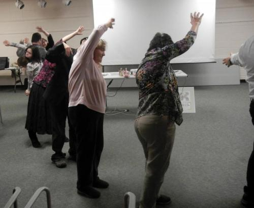 Wellness and laughter yoga