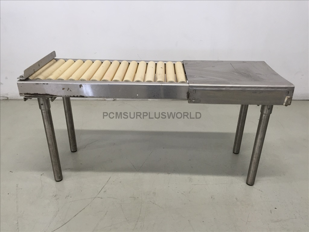 Roller Conveyor With Packing Table 48'' X 24'' X 15.75