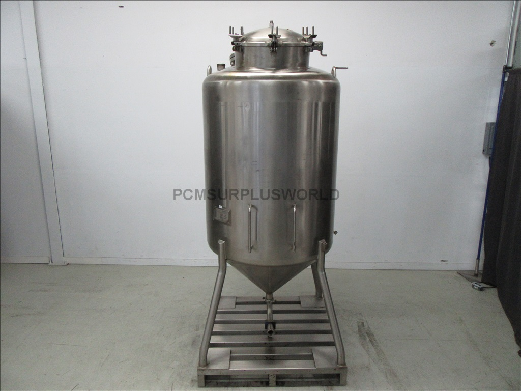 265 Gallons 1000l Stainless Steel Pressurised Apv Crepaco
