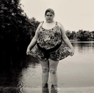 Gary Grenell, Heavy Girl in Green Lake, 1996