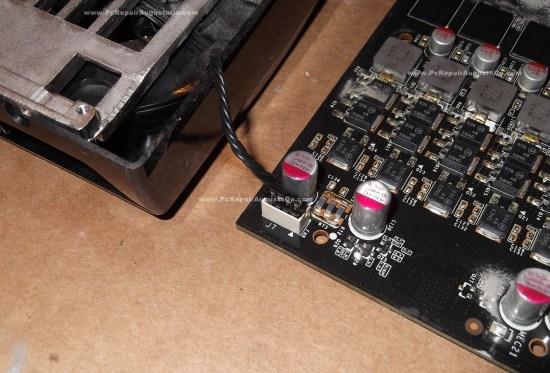 EVGA GTX 275 Fan Cable