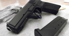 Ruger SR45 Semi Auto Handgun