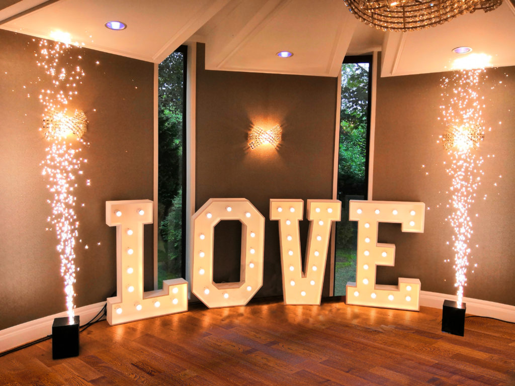 Spark Fountains Indoor Fireworks - Sparks Flooring Chatham