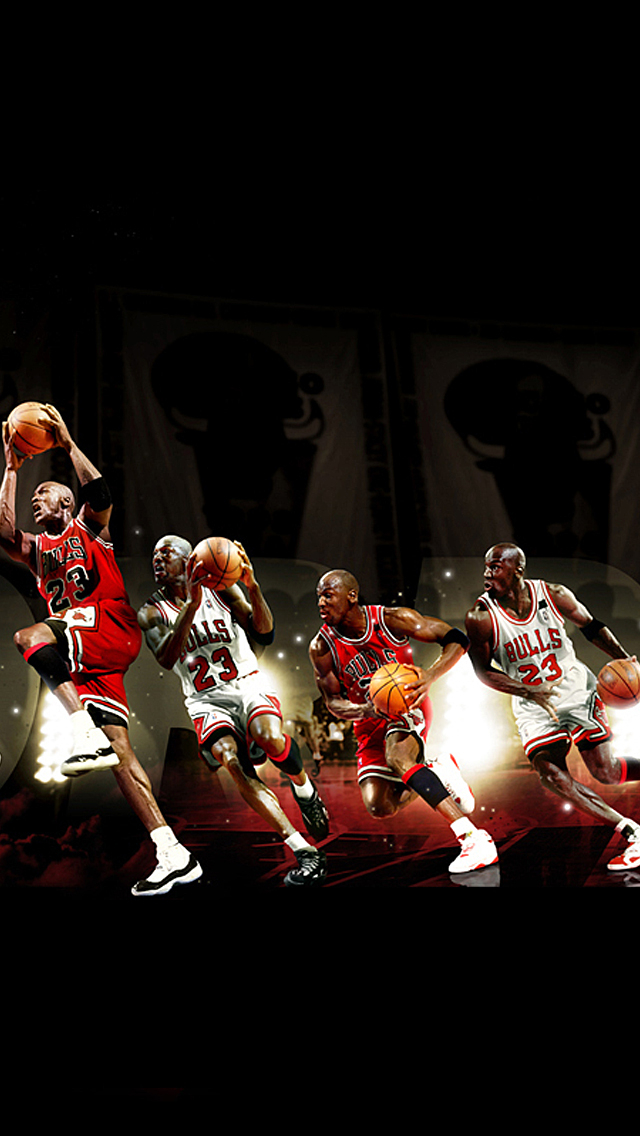 Bulls Iphone Wallpaper Michael Jordan Iphone 5 Wallpaper Pctechnotes Pc Tips
