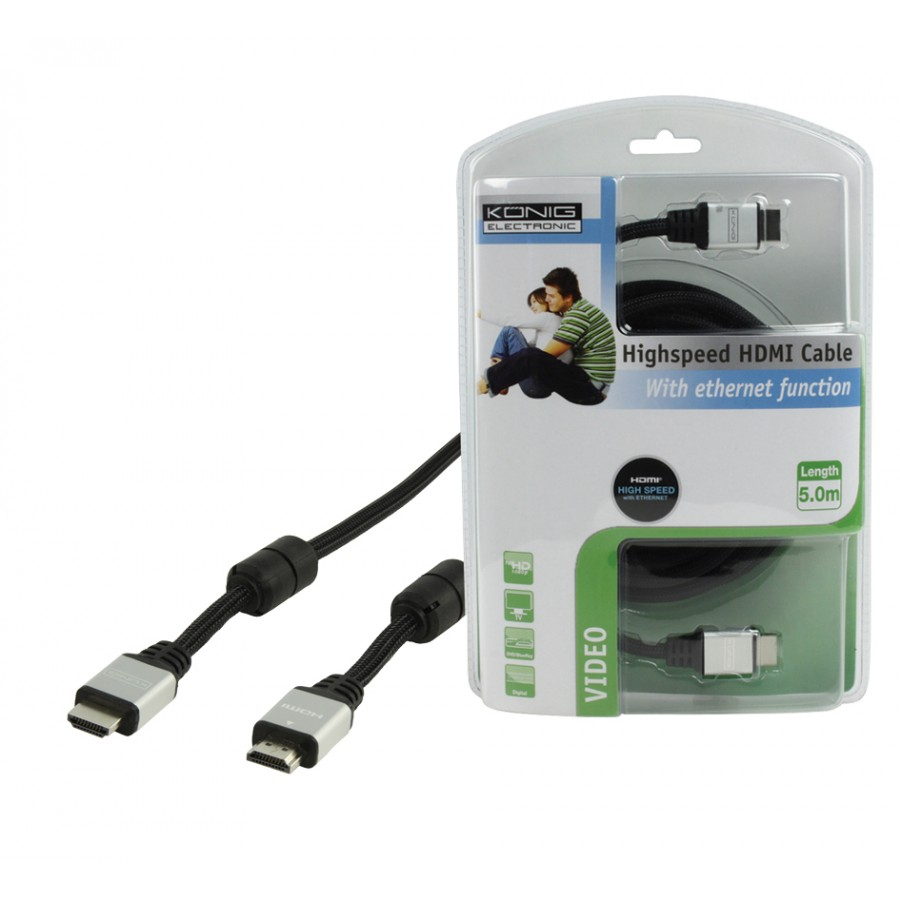 Ethernet Kabel Kopen Nu 27 64 High Speed Hdmi Met Ethernet Kabel 5 00 M