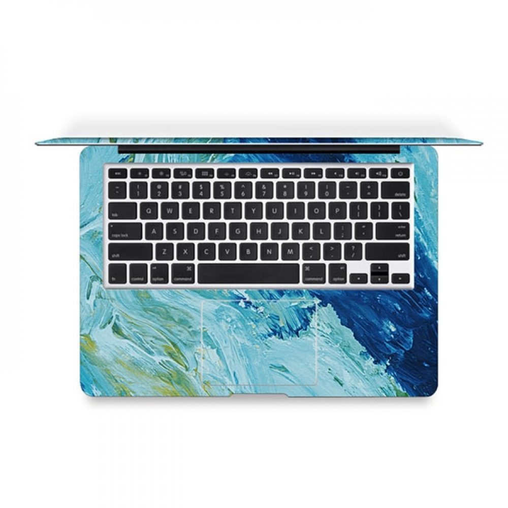 Apple A1465 Macbook Air Pro Decal Skin Set (watercolor Paint) :: Pdair
