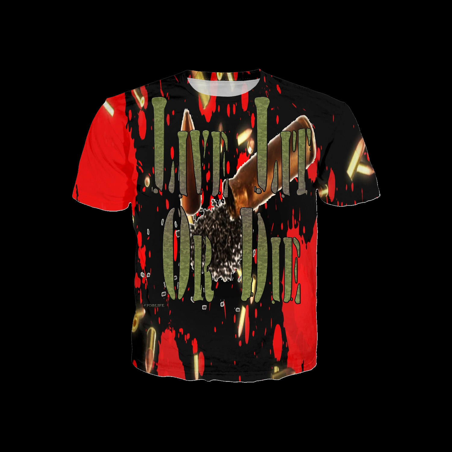 Die Collection Live Lit Or Die Collection Series 2 - Shirt - Pdblife ...