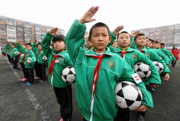 chińskie akademie piłkarskie