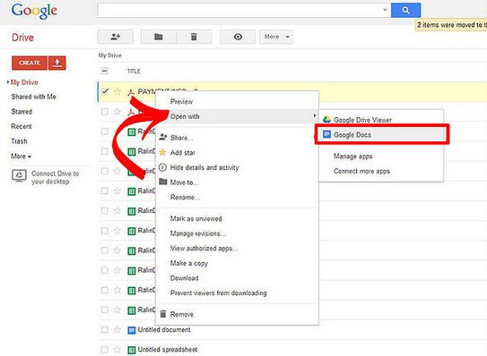 Fix Google Docs PDF to Word Conversion Not Working Problems