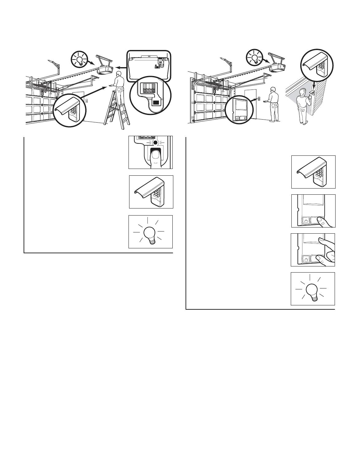 chamberlain garage door opener manual release