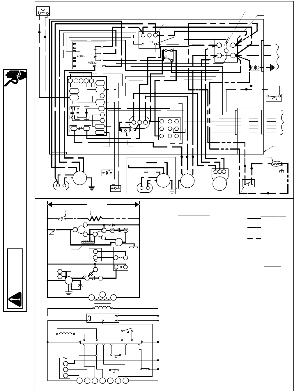 heat pump wiring diagram schematic gph1342m41ca