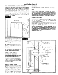 Page 8 of Williams Furnace 2203612 User Guide ...