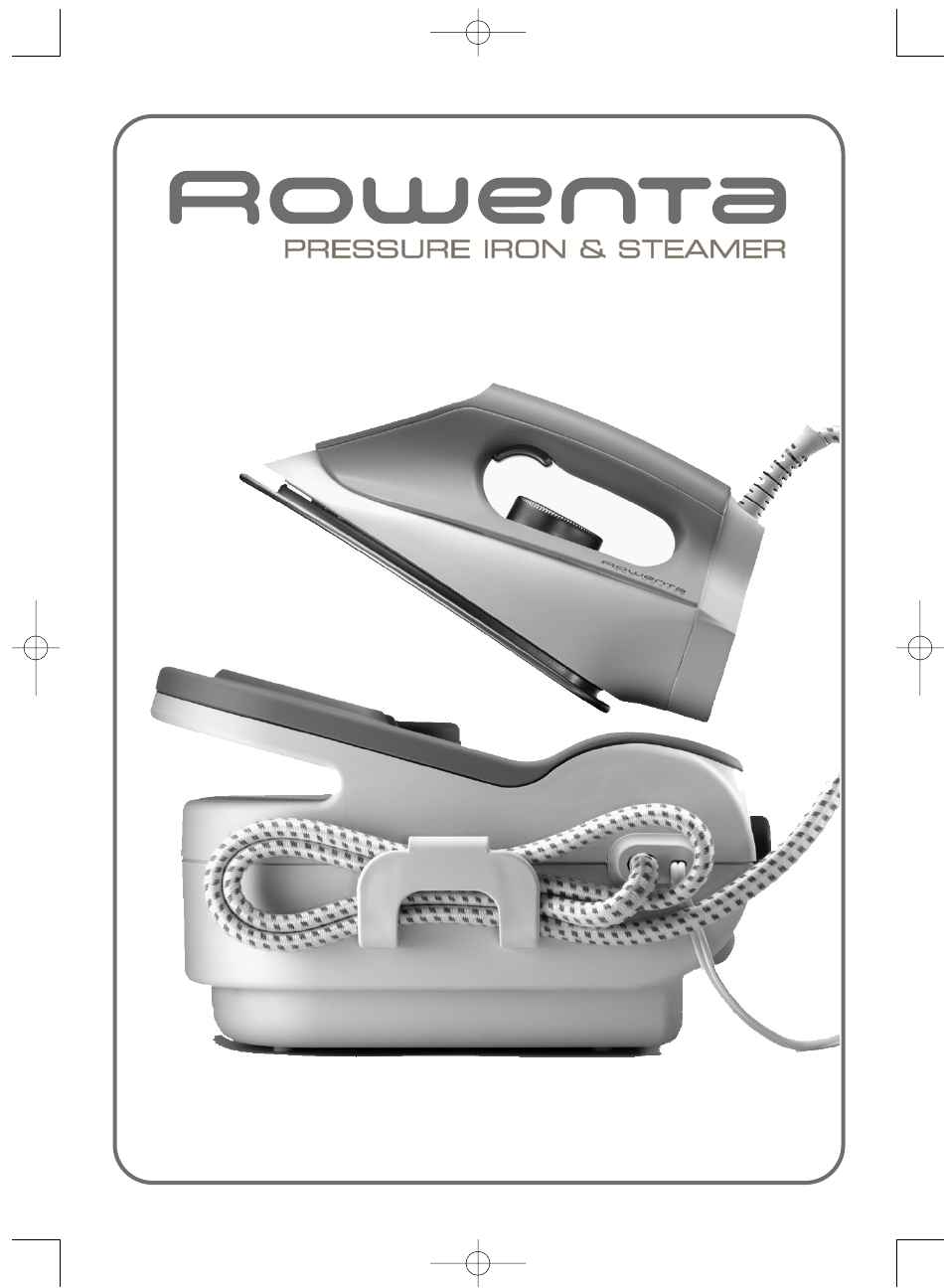 Rowenta pressure iron steamer styling iron user manual
