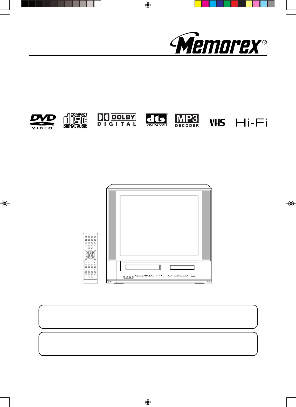 memorex tv manual