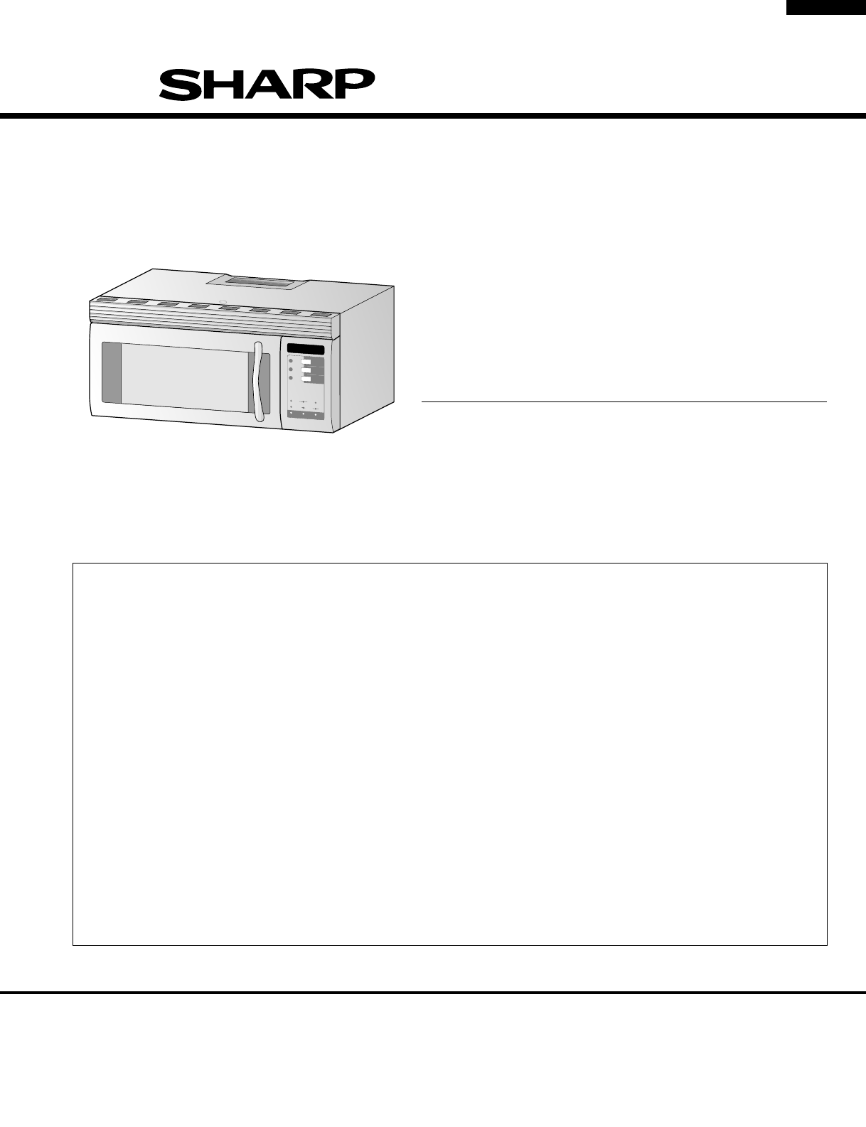 Sharp Combimagnetron Handleiding Sharp Microwave Oven R 1480 User Guide Manualsonline
