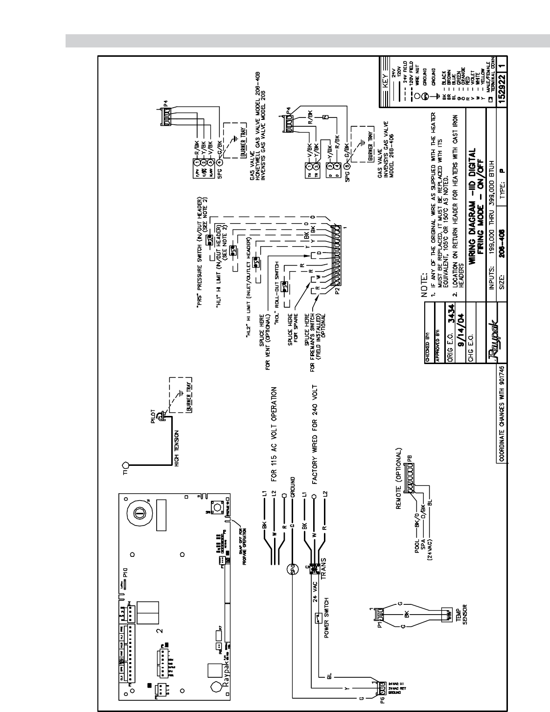raypak heaters wiring diagrams for