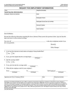 Cms017339 Centers For Medicare Medicaid Services 2010 Form Cms L564 Fill Online Printable Fillable Blank