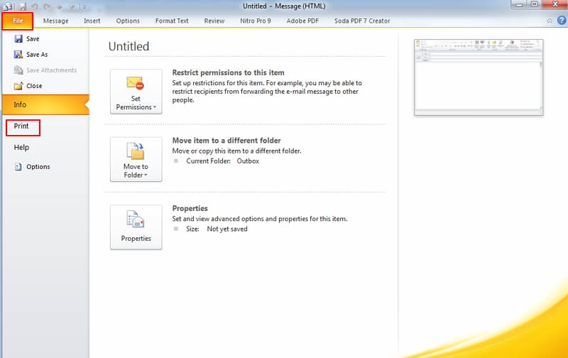 How to Convert Outlook Email to PDF with Adobe Acrobat Wondershare