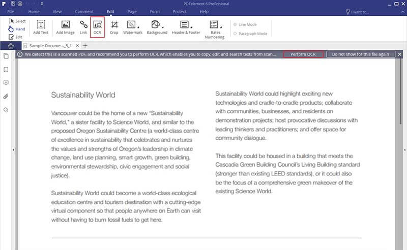 Edit Scanned PDF with Adobe Acrobat? Check the Easiest Way