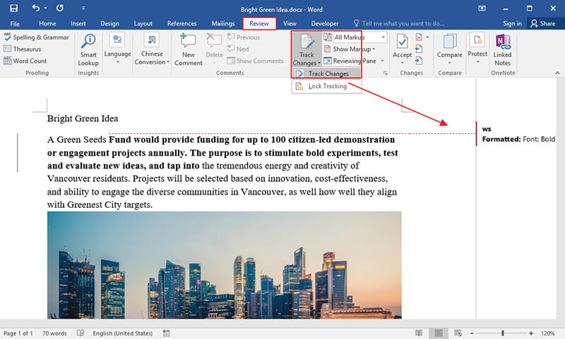 How to Remove Track Changes in Word Wondershare PDFelement