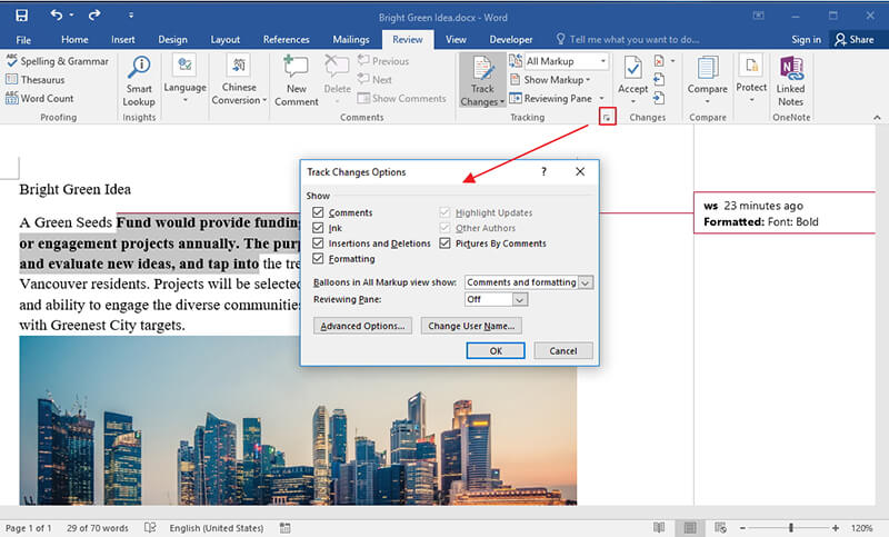 How to Do Track Changes in Word 2016 for Free Wondershare PDFelement