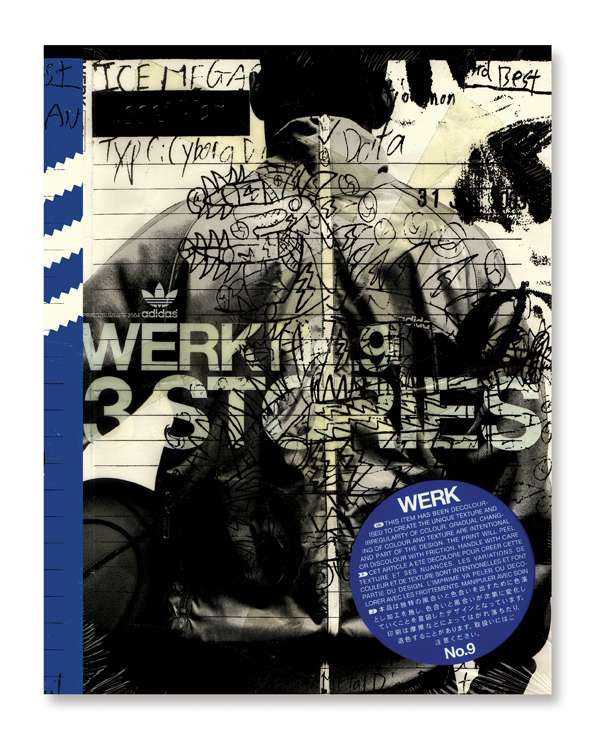 WERK MAGAZINE No9 adidas dirt and doodles Pinterest Adidas - second hand küche