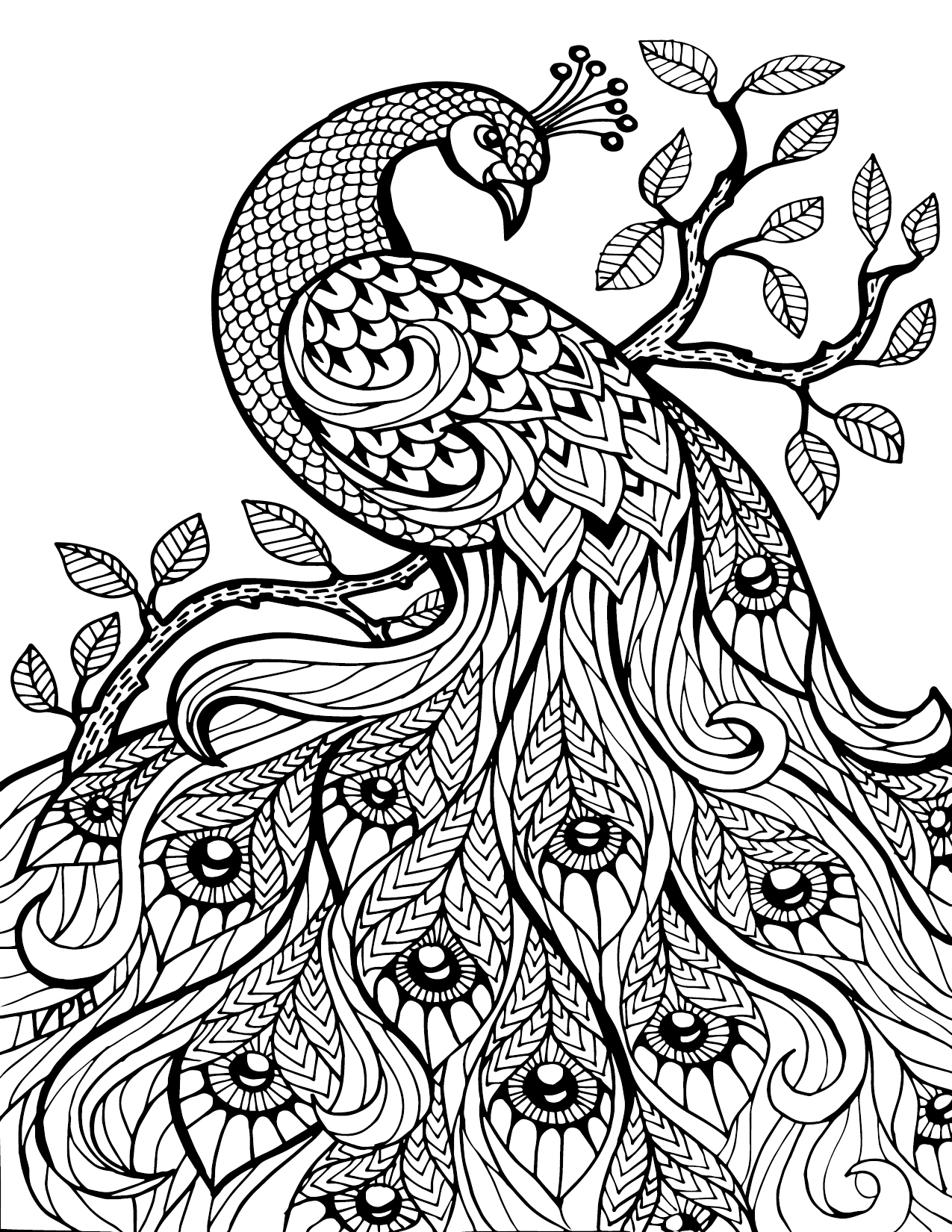 Free coloring pages landscapes printables