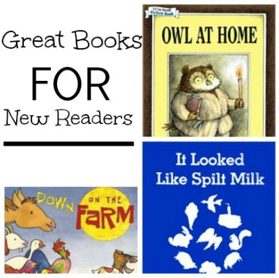 Great Books for New Readers