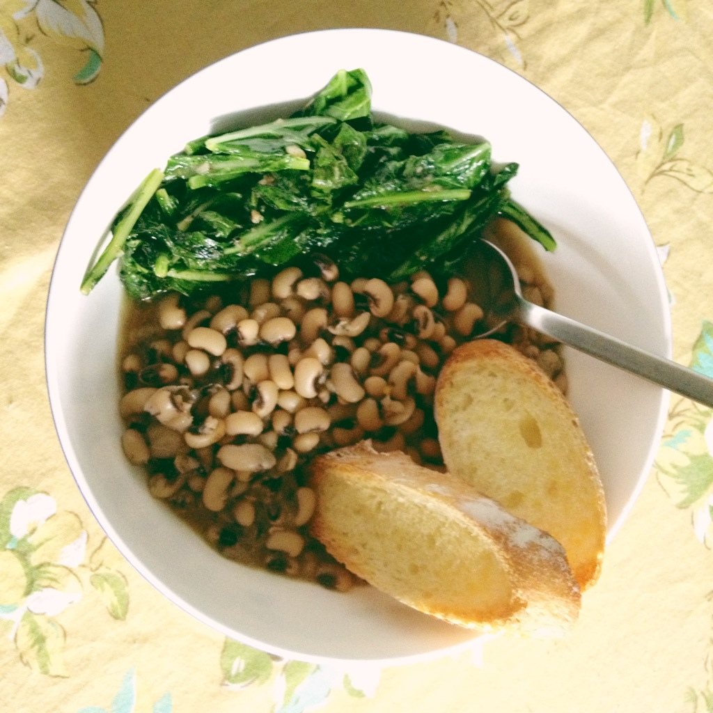Bep Cuisine Get Lucky In 2014 With This Black Eyed Peas Recipe