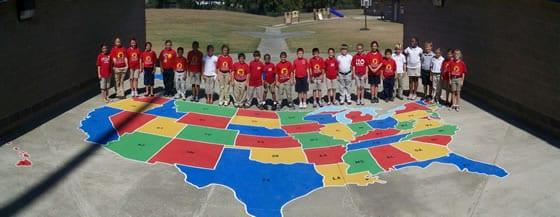 world map stencil free