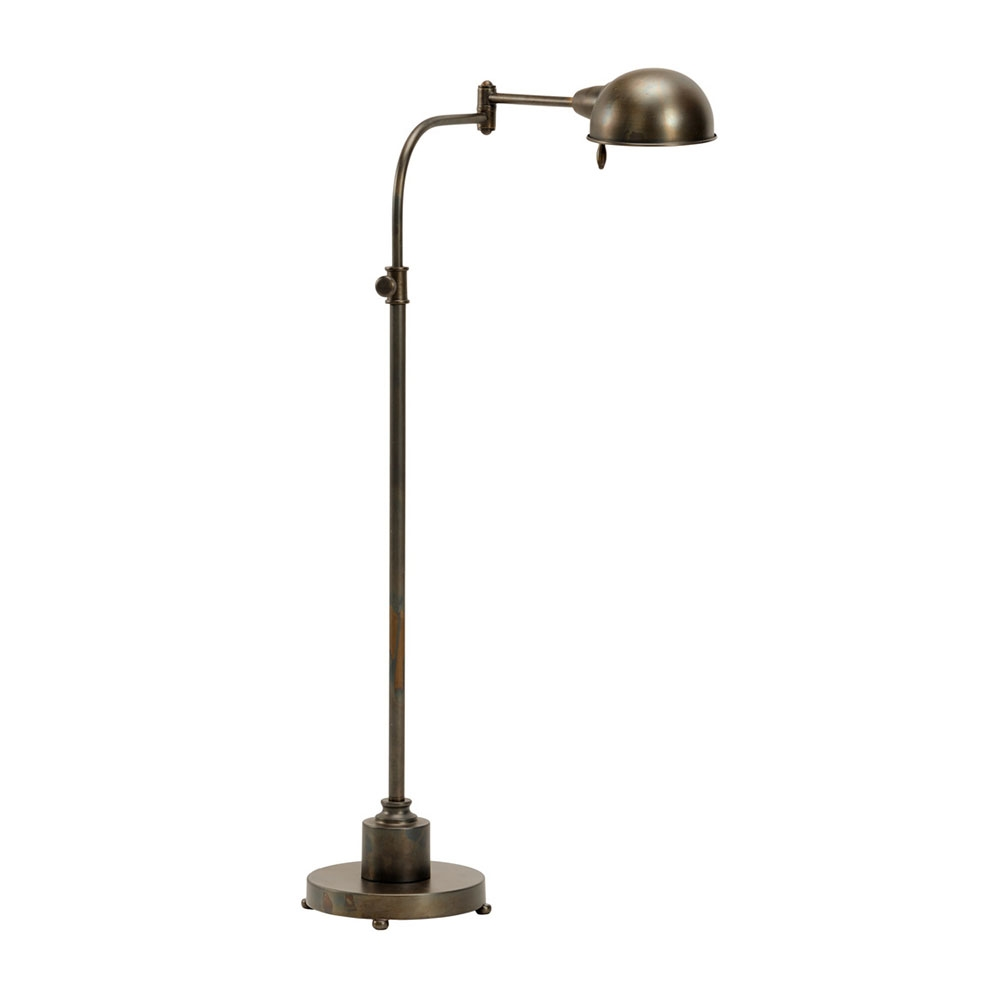 Arm Lamp Wildwood Lighting Swing Arm Floor Lamp