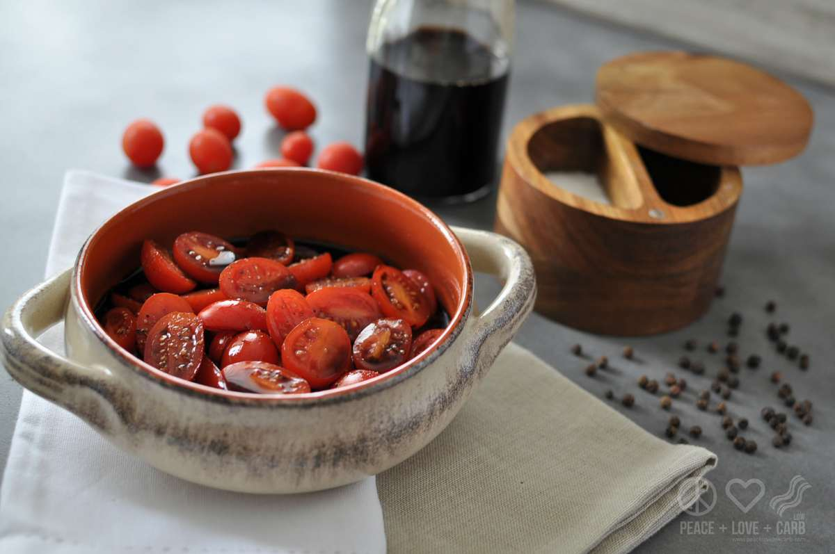 Balsamic Marinated Tomatoes Low Carb Paleo Whole30