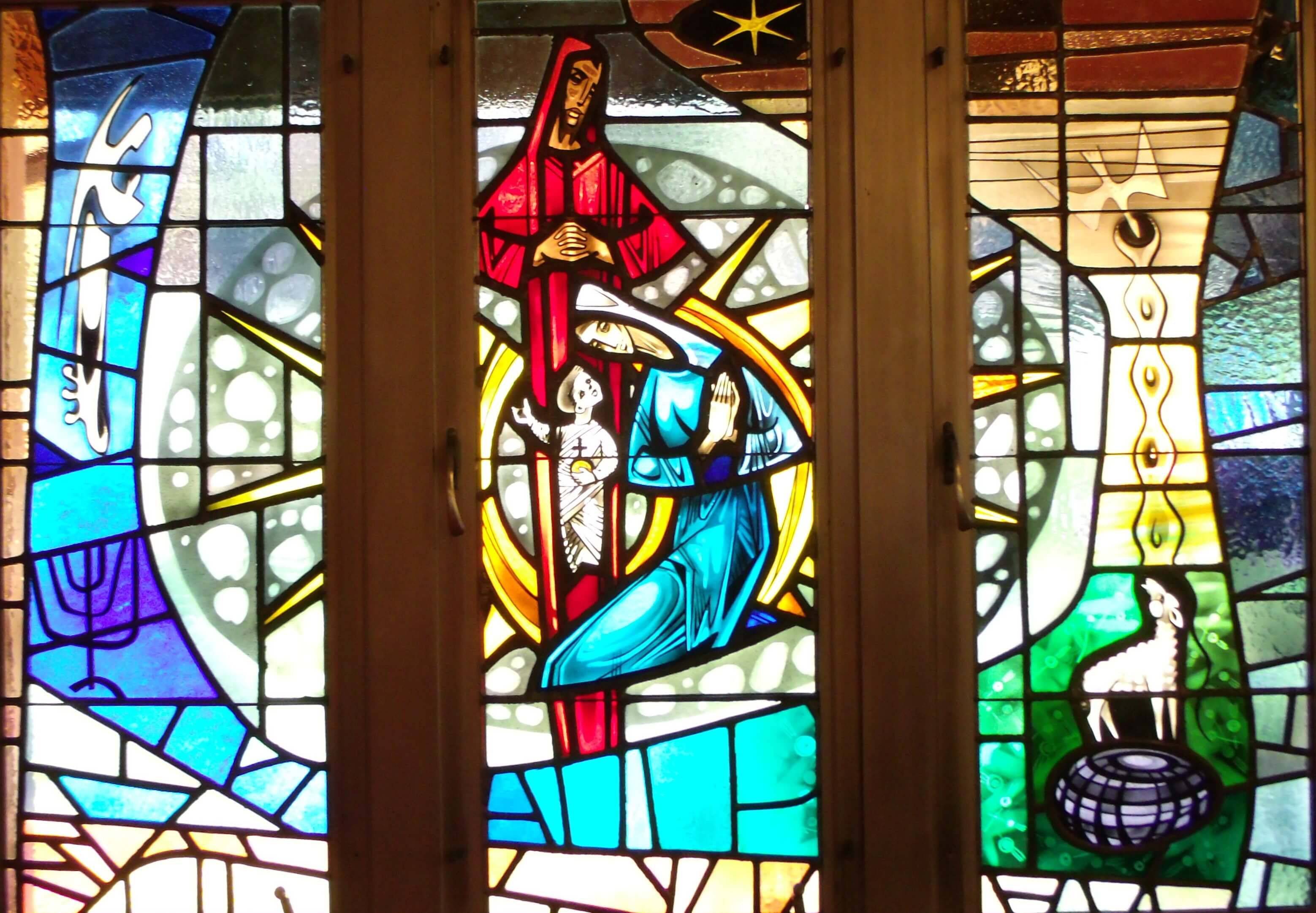 Cana Windows Stained Glass Windows Peace Lutheran Church