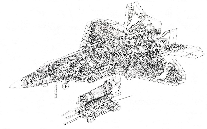 airplane engine schematics