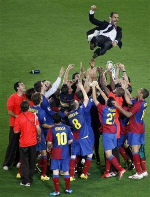 Barcelona, still on top of La Liga.