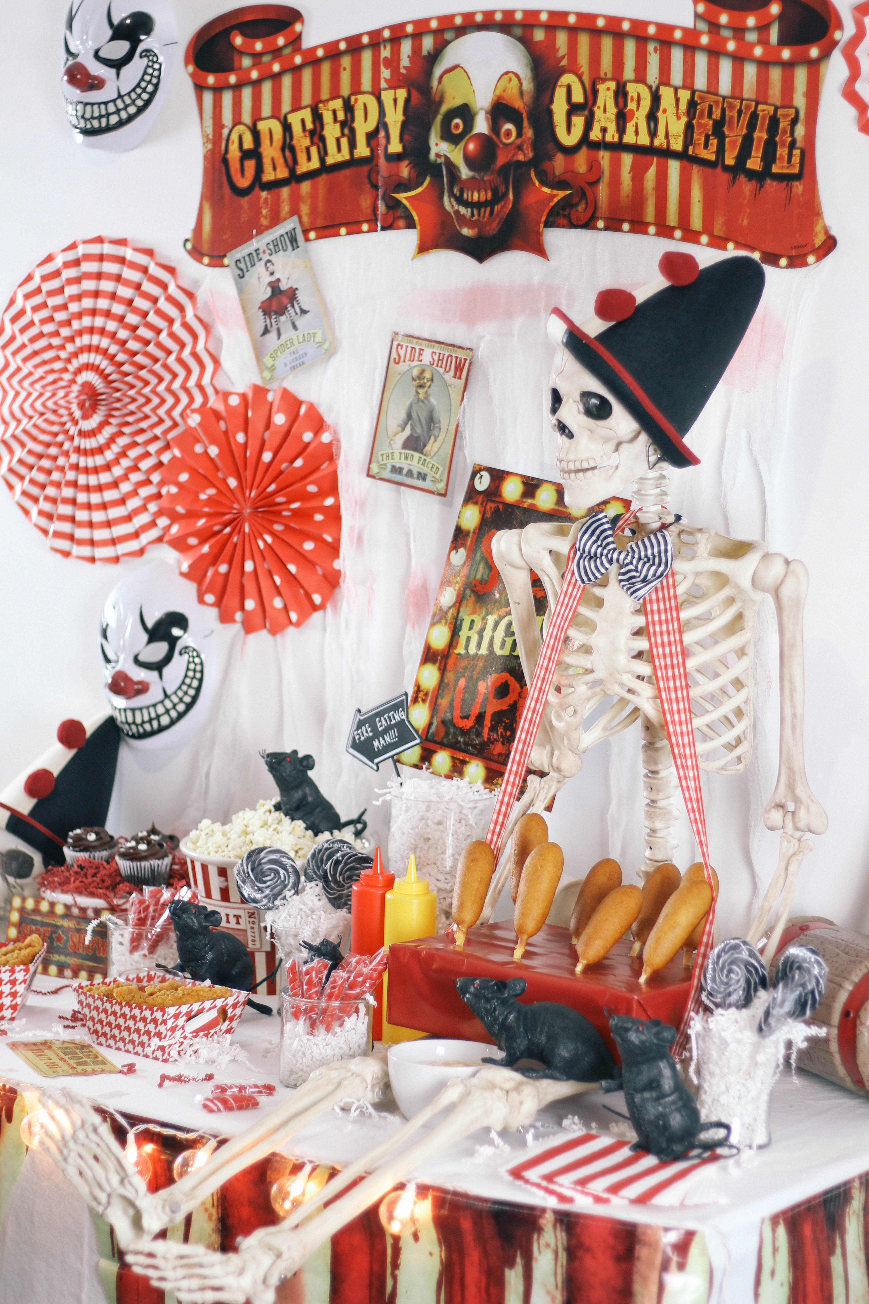 Halloween Chic Halloween Carnival Party Peachfully Chic