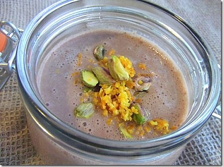 Chocolate Orange and Pistachio Smoothie (9)