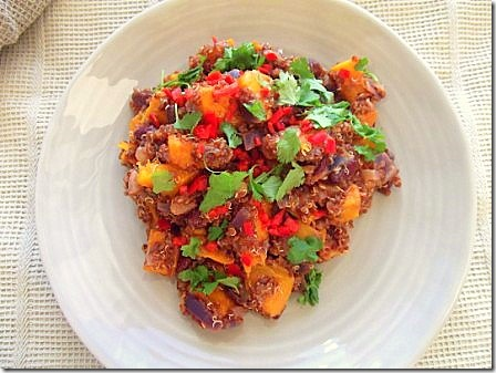 Roasted Butternut Squash Red Quinoa Chilli (3)