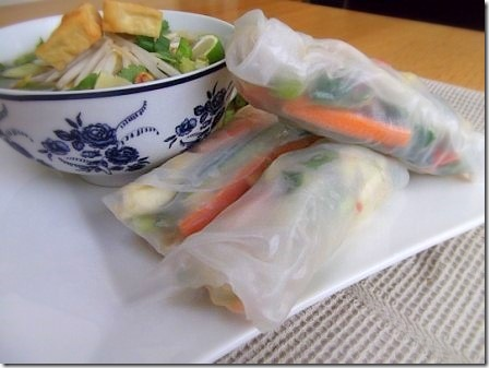 Summer Spring Rice Rolls with Vietnamese Rice Noodle Soup (78)