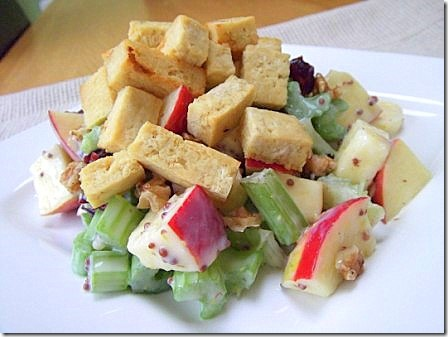 Vegan Tofu Waldorf Salad (39)