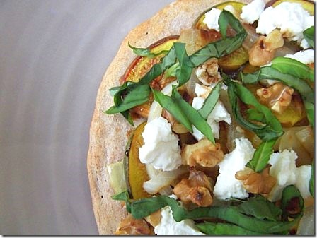 Fig Basil and Goats Cheese Pizza (19)