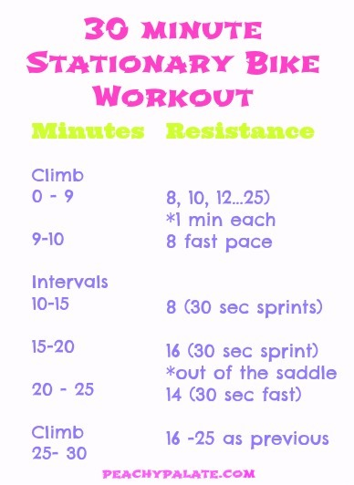 stationary- bike - workout